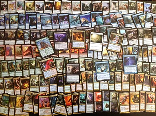 100 Card MTG Magic the Gathering Collection Assorted Bundle Repack Lot  25 Rare & 75 Uncommon, Recent Sets, No Duplicates by Magic  the Gathering