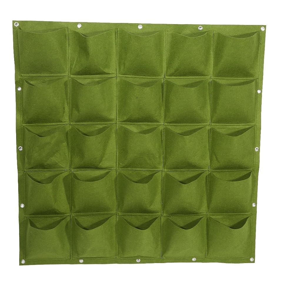不足クリーナースリッパ植栽バック 不織り布 プランター 植え袋 植物育成袋 フェルト材料製 さび止め 耐熱性 耐寒性 耐久性 環境に優しい 壁掛け式 軽量 再利用可能 実用的 全2色(グリーン)
