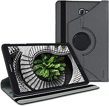 kwmobile Funda Compatible con Samsung Galaxy Tab A 10.1 (S-Pen) (2016) - Carcasa de Cuero sintético para Tablet en Antracita