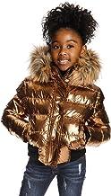 Appaman Kids Girl's Kyla Puffer Coat w/Faux Fur Hood (Toddler/Little Kids/Big Kids)