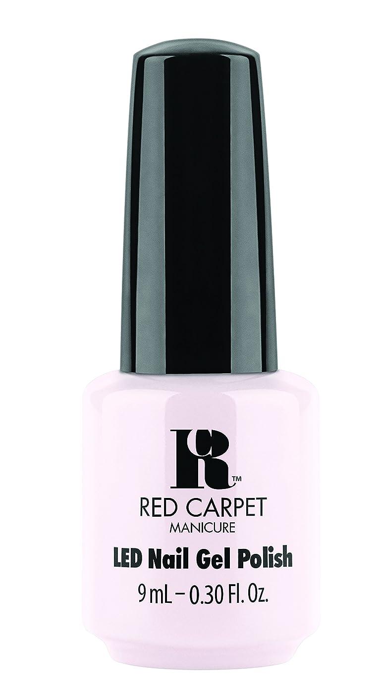 塩辛い持参ラフトRed Carpet Manicure - LED Nail Gel Polish - Candid Moment - 0.3oz / 9ml