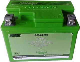 AMARON BATTERY AP-BTZ4L IN GREEN COLOUR