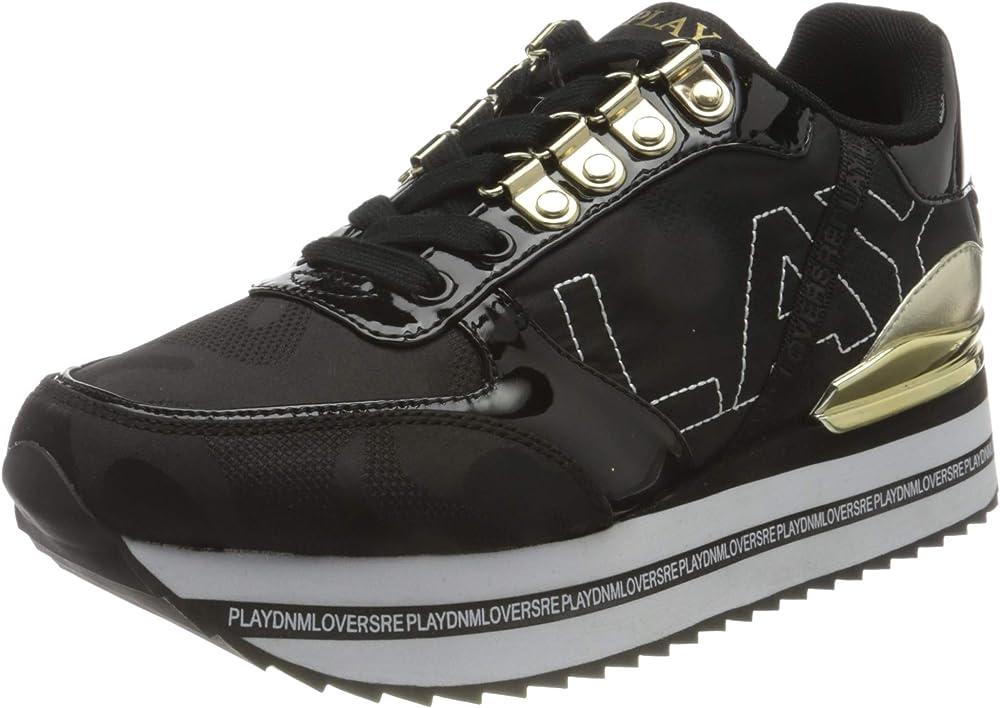 Replay daytripper, scarpe da ginnastica,sneakers per donna,in pelle sintetica GWS3D .000.C0002T