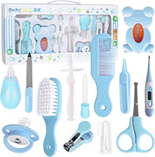 Baby Healthcare and Grooming Kit, FantasyDay 13 in 1 Newborn Essentials Nursery Care Set with Toothbrush Nail Clipper File...