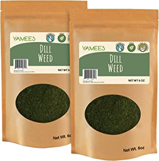 Sponsored Ad - Yamees Dry Herbs – BULK Dill Weed - Bulk Spices - 12 Ounces