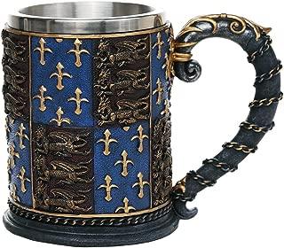 Pacific Giftware Medieval Times Coat of Arms Mug Tankard 13oz
