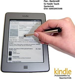 Spartechnik Bedienstift für AMAZON Kindle Touch & WIFI & 3G Paperwhite Fire Fire HD mit 15 cm (6 Zoll) Display   Stylus für Touch Display des E Book Readers Kindle Touch & Wifi