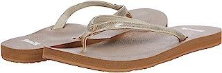 حذاء حريمي Sanuk Yoga Joy Shimmer معدني