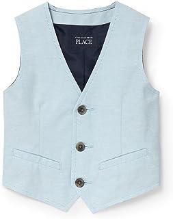 The Children's Place Baby Boys Oxford Dressy Vest