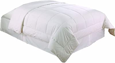 Dust Buster Anti-Microbial Comforter Ultra Fresh Technology Hypoallergenic, Down Alternative Full / Queen, White