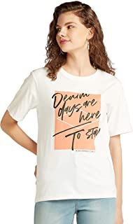 Lee Cooper Women 3017729 LCU20WHITE11 Tshirts