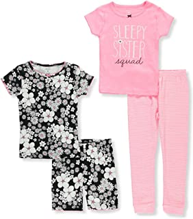 inktastic New Sister with Pink Flowers Toddler Long Sleeve T-Shirt