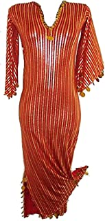 bonballoon Belly Dance Nancy Galabeya Dress Costume Stretchy Baladi Saidi Handmade Egypt 405