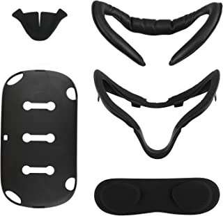 [Newer Version] Esimen VR Facial Interface Bracket & PU Leather Foam Face Cover Pad Replacement Custom Set for Oculus Ques...