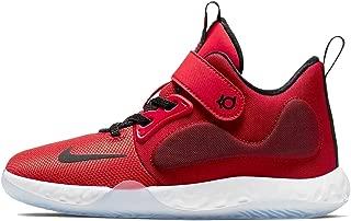 Kids' Preschool KD Trey 5 VII Basketball Shoes (2, Red/Black)