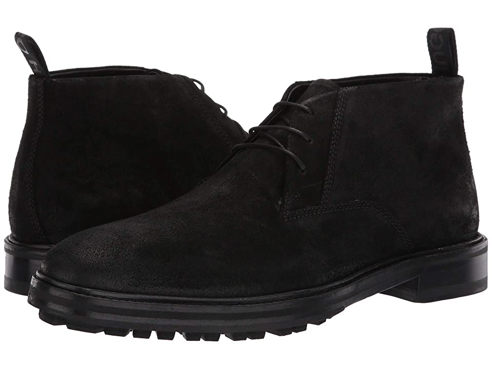 BOSS Hugo Boss Bohemian Suede Chukka By HUGO (Black) Men
