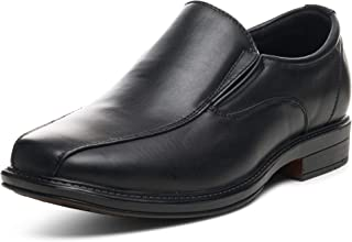 Mens Dress Shoes Leather Lined Slip on Loafers