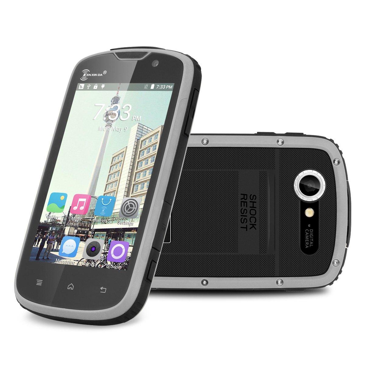 KENXINDA proofings W5 4.0 IPS 4 G Outdoor Smartphone sin Contrato IP68 resistente al agua resistente