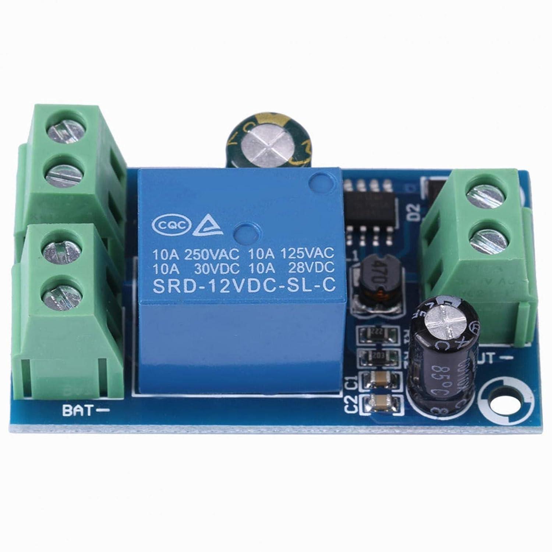 Power Supply Controller, Yx-x804 DC 12V 24V 36V 48V 10A Battery-Powered Automatic Management Module, Emergency Automatic Switch Module, Backup Battery Switch