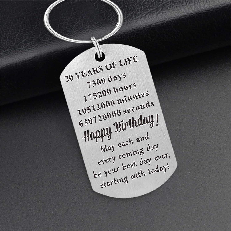 Best Friend Birthday Gifts for Men Boys Birthday Present Keepsake Idea MXRSDF Happy Birthday Gifts for Women Girls