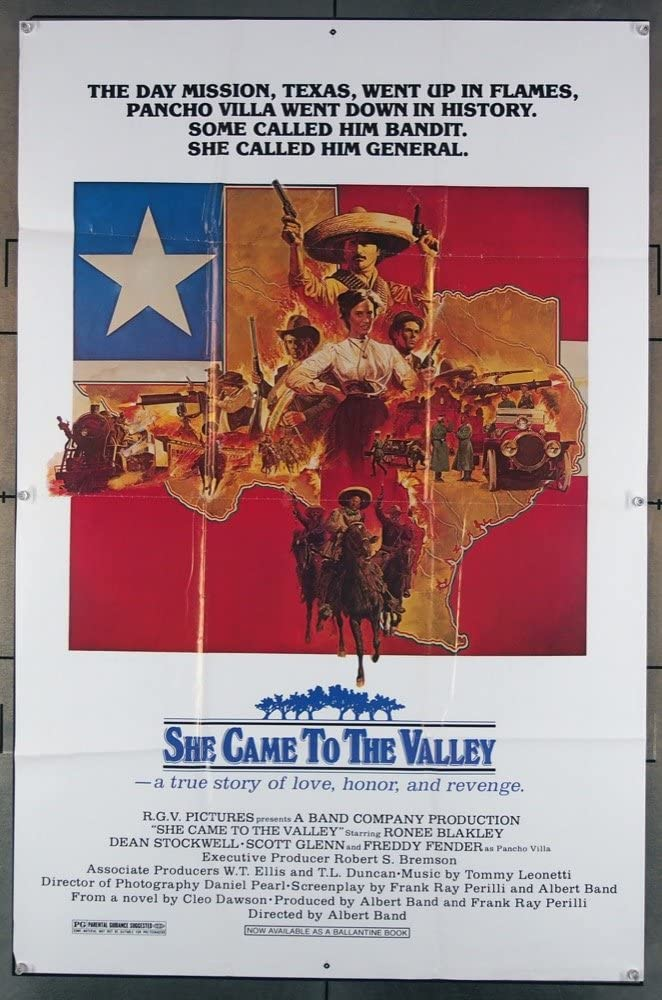 She Came famous To The Valley List price 1979 U.S. Post Original Movie One-Sheet