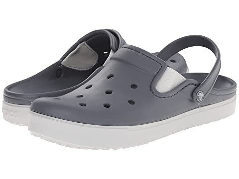 Clog Crocs White Charcoal Pearl CitiLane HZnzqw6