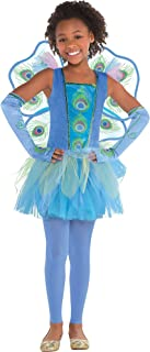 Amscan Princess Peacock Halloween Costume for Girls, Medium, with Included Accessories