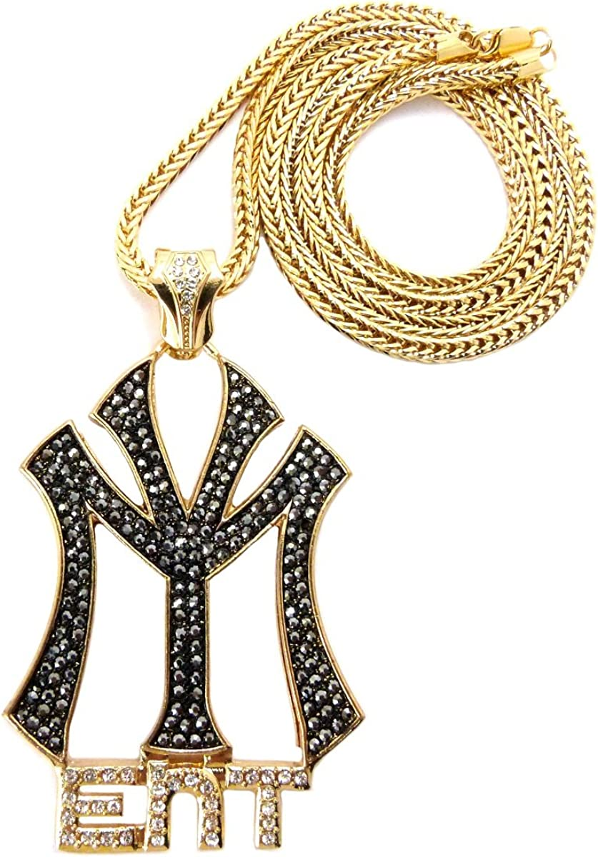 Crescendo SJ INC New Iced Out Young Money Ent Pendant &36