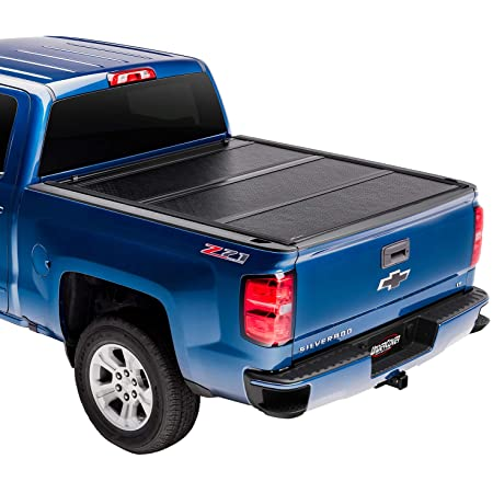 Amazon Com Undercover Flex Hard Folding Truck Bed Tonneau Cover Fx11019 Fits 2014 2018 19 Ltd Legacy Chevrolet Silverado Gmc Sierralegacy Limited Only 1500 2500 3500 6 7 Bed 78 9 Automotive