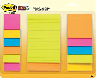 Post-it Super Sticky Notes, 15 Pads, Multipack (654-15SSMULTI2)