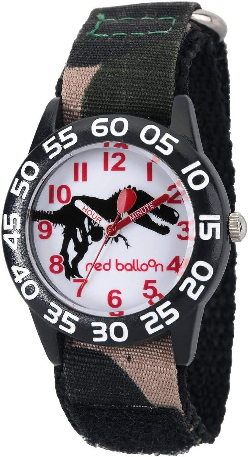 eWatchFactory Boys' Red Balloon Analog-Quartz S with Watch Nylon Industry No. 1 Ranking TOP3