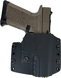 Watchdog Tactical, Polymer 80 Compact (Glock 19/23) Holster, Right-Handed, Black, OWB/IWB