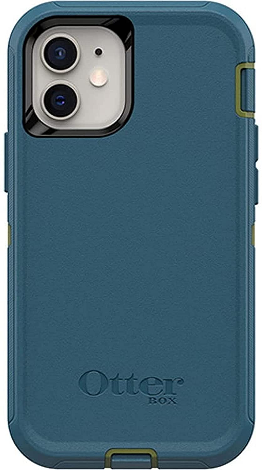 OtterBox Defender Series SCREENLESS Edition Case SCREENLESS Edition for iPhone 12 Mini - Case Only - Non-Retail Packaging - Teal ME About IT (Guacamole/Corsair)