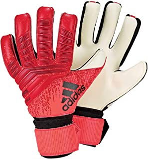 Adidas Pred League Goalkeeper Gloves (W/O Fingersave), Unisex Adult, unisex-adult, DN8575_6.5, Multicoloured (rojact / Black / Rojsol), 6.5