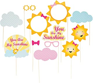 You are My Sunshine Photo Stick Props for Birthday - Apparel Accessories - Costume Accessories - Costume Props - Birthday - 12 Pieces