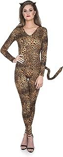 Snow Leopard Cat Suit Costume