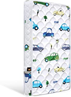 Bubble bear Foam Crib Mattress and Toddler Mattress -Comfortable and Breathable & Solid Safety Edge & Size:52X27.6X5(Cute ...