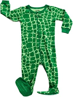 13b31117bb DinoDee Baby Boys Girls Footed Pajamas Sleeper 100% Cotton Kids Pjs (6  Months-