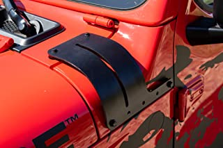 Rampage Products 7690 Cowl Light Bracket Cowl Light Bracket for 2018-2019 Jeep Wrangler JL