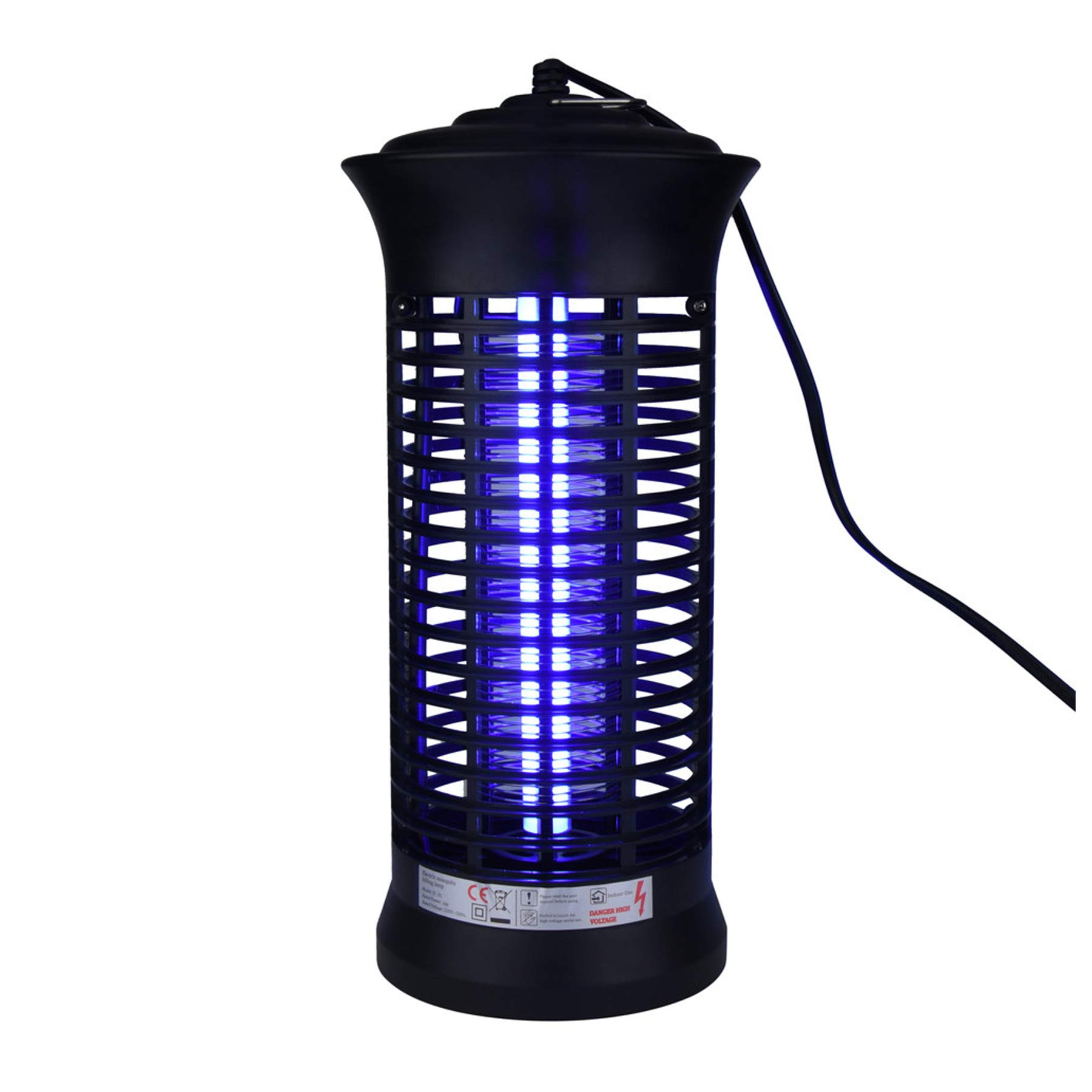 Naiflowers Electronic Mosquito Bug Zapper LED, Socket Electric Lamp LED Indoor Smart Mosquito Insect Light Killer Fly Trap Bug Lamp, Repellent Fly Zapper Non-Toxic No Radiation Pest Control
