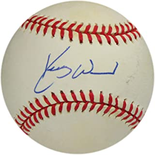 kerry wood autographed baseball