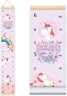 Height Growth Chart for Kids Girl Unicorn Design |...