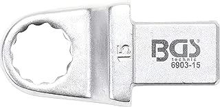 BGS Technic 6903-15 Insertion Ring Spanner 15 mm Socket 14 x 18 mm