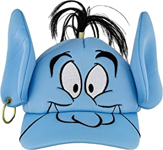 Disney Parks Aladdin Genie Adjustable Baseball Cap Hat Blue