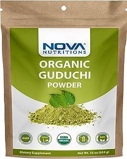 Sponsored Ad - Nova Nutritions Certified Organic Guduchi Powder 16 OZ (454 gm) - Ayurvedic Herbal Immune Support