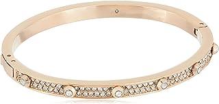 Michael Kors Mkj3269791 Astor Stud Pave Hinge Bracelet Rosegold Tone