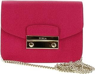 JULIA Saffiano Leather Mini Crossbody Shoulder Bag