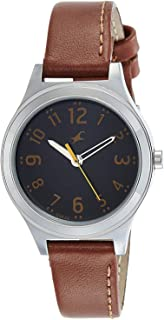 Fastrack Casual Watch for Women, Leather - 6152SL03