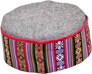 Pahari Cap, Multicolor Krystle Premium Himachali Woolen Cap Unisex