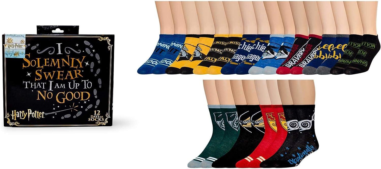 Harry Potter 12 Days of Socks Gift Box